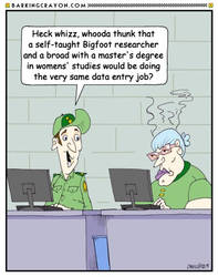 Feminist Co-Worker by Conservatoons