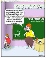 Emotional Math 101 by Conservatoons