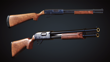 Remington 870 by Littlenorwegians