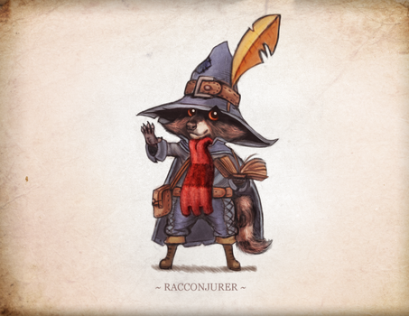 Racconjurer by Littlenorwegians