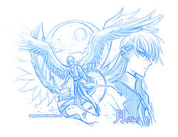 CCS Yue doodles by Majime