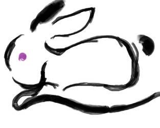 The Rabbit - tu zi by lollipops-purple