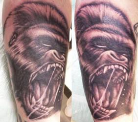 Gorilla by galaric