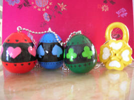 Shugo Chara Eggs and Lock by kneazlegurl125