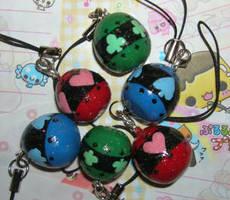 Shugo Chara mini eggs by kneazlegurl125