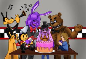 Happy belated birthday! by Mirage-Epoque