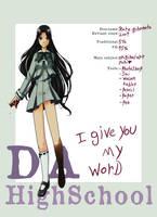 DA highschool ID - kare by Kare-Valgon