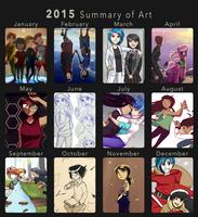 Summary of Art 2015 by Kare-Valgon