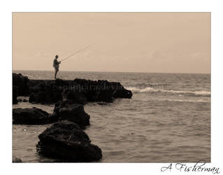 A Fisherman by Spappara