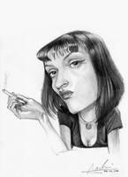 Uma Thurman by Nico4blood