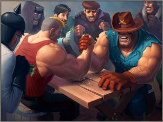 Blitz Brigade Illustration by Nico4blood