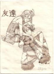 Tomodachi by DrunkenPanda