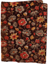 Flower pattern on old fabric | PNG by mercurycode