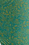 Teal mistletoe gift wrap texture by mercurycode