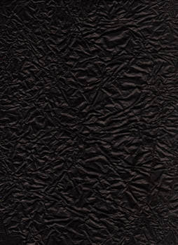 Crumbled black paper scan by mercurycode
