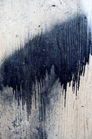 Dripping Paint on Concrete by mercurycode