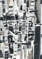 Weaver - Original Paper Collage by mercurycode