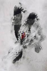 Digital Texture Artwork 300 by mercurycode