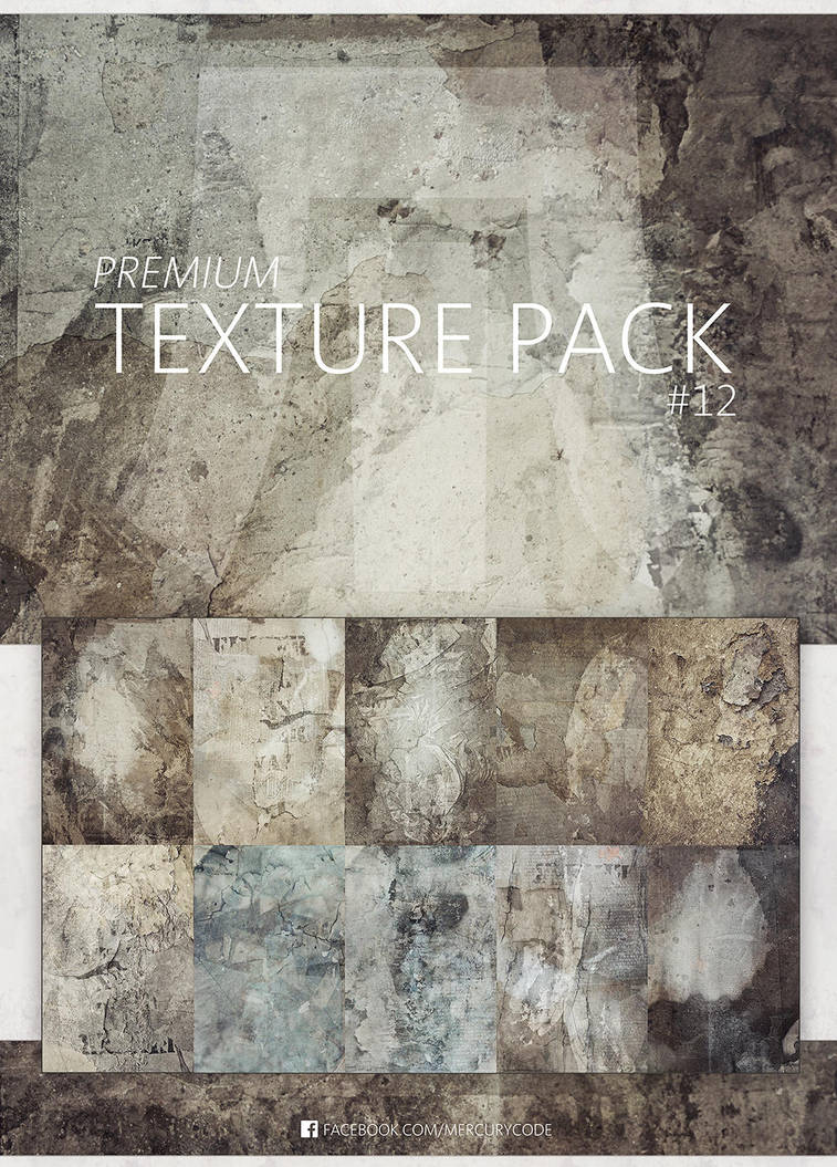 Premium Texture Pack 12 | Ultimate Grunge by mercurycode