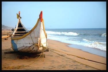 Kerala Kovalam Beach by DANNY-KURIAN