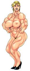 Muscle woman  2006 by belt468