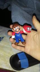 Mario figurine by CheysMisadventures