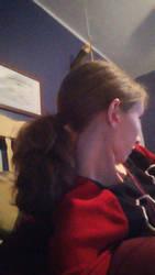 short ponytail by CheysMisadventures