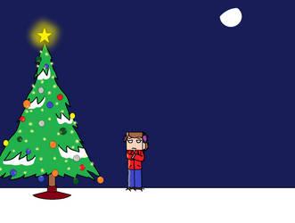 Alone on christmas by CheysMisadventures