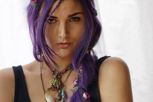 Purple Hair 3 by dazzle-stock