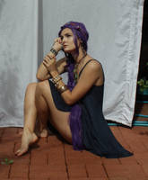 Purple Hair 13 by dazzle-stock