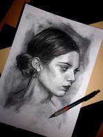 Portrait #7 by Gabrielmadrasse