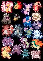 pokemon request dump by herbal-moontea