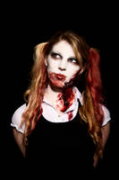 zombie school girl 2 by sophie-mortimer