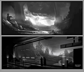 Environment Scenes Speed Paint by Multiimage