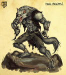 Pirate Werewolf concept by ArtDeepMind