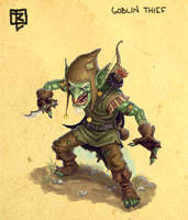 Goblin Thief design by ArtDeepMind