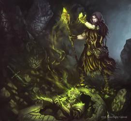 Necromancer by ArtDeepMind