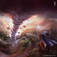 Tornado wand by ArtDeepMind