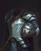 Headless Knight by ArtDeepMind