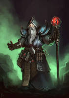 Warlock by ArtDeepMind