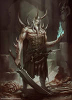 Demon lord by ArtDeepMind
