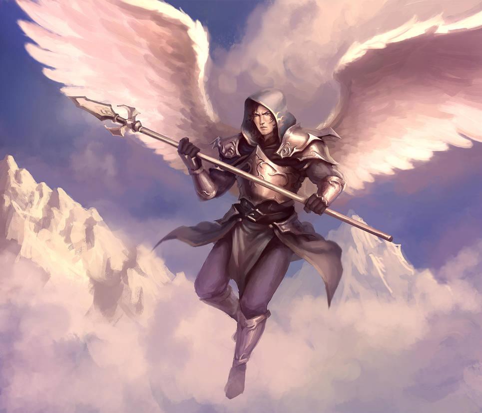 Angel Warrior By ArtDeepMind On DeviantArt