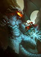 The Dragon War by ArtDeepMind