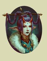 Demon Princess by ArtDeepMind
