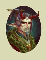 Demon King by ArtDeepMind