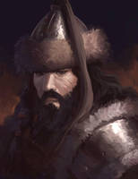 Mongol warrior 2 by ArtDeepMind