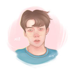 Lucky Sehun by IamDMY