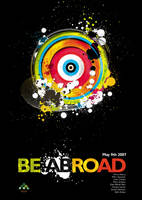 BE.ABROAD Poster by thedesolateone