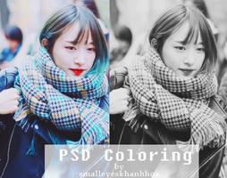 PSD Coloring  by Khanhhoa by smalleyeskhanhhoa
