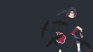 Itachi Uchiha (Naruto) Minimalist by Max028